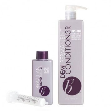 B3 Brazilian Bond Builder Demi Permanent Conditioner Kit 1000ml