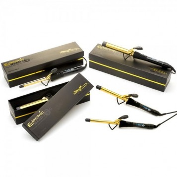 Head Jog Titanium Gold Waving Iron 25mm (61603)