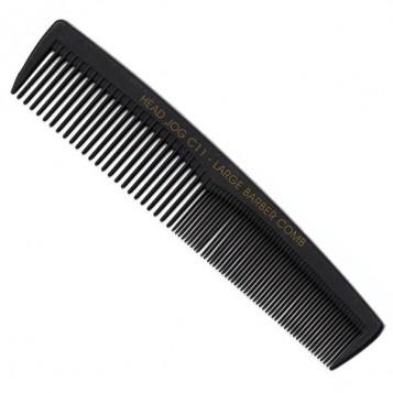Head Jog C11 Carbon Fibre Large Barber Comb (61698)