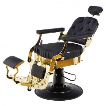 Πολυθρόνα Barber Roberto Gold Black