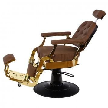 Πολυθρόνα Barber Roberto Gold Brown