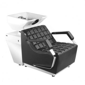 Λουτήρας κομμωτηρίου Salon Wash με ηλεκτρικό υποπόδιο